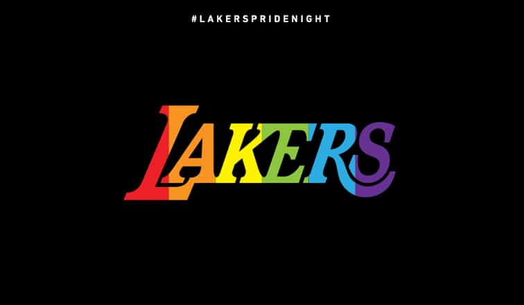 Los Angeles Lakers Pride Night
